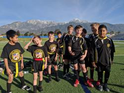 U10 and U8 Fullerton Scrimmage Jan 2020