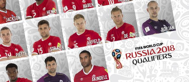 15ddec4d5 Canada Soccer have released their 23-man squad for the upcoming 2018 FIFA  World Cup Russia Qualifiers in San Pedro Sula