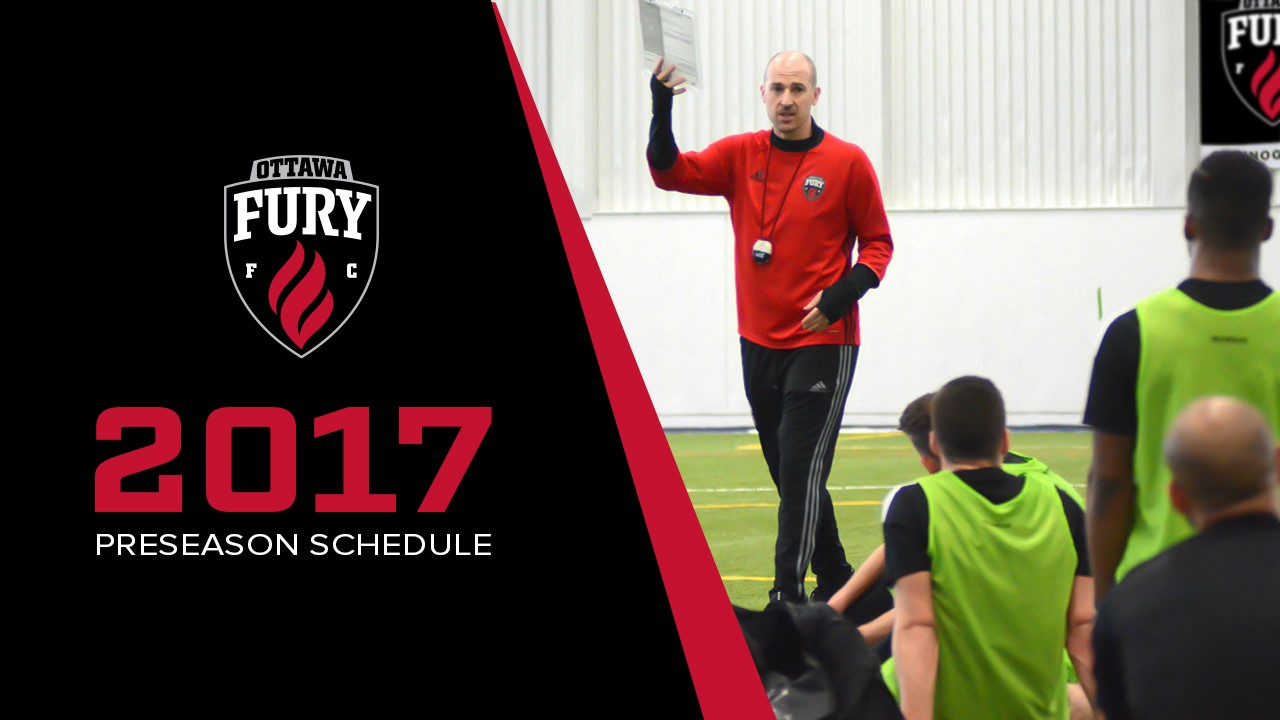 Fury FC GM and Head Coach Paul Dalglish holding his note pad in his hand and talking to the players during preseason training camp