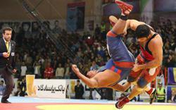 Photo of Pahlavani wrestling courtesy of United World Wrestling