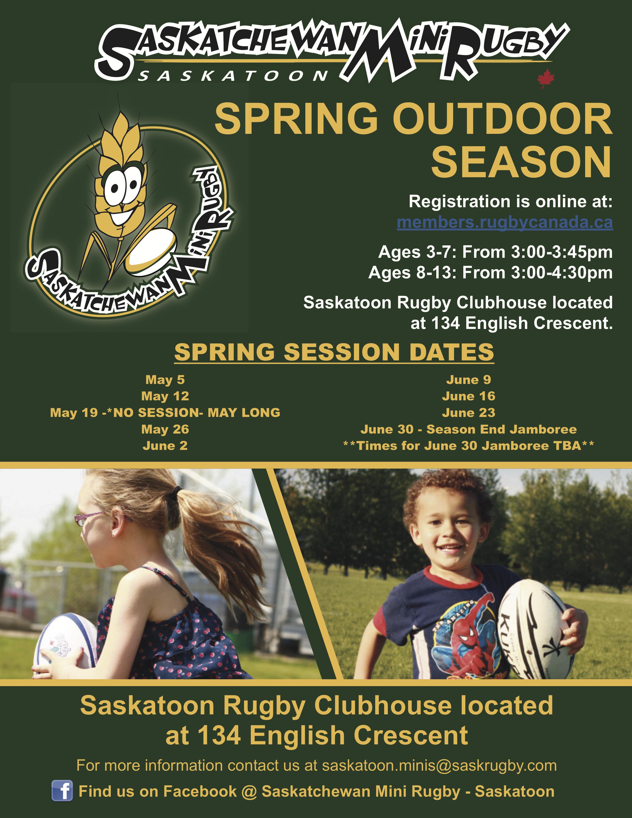 Saskatoon Mini Rugby