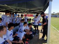 PSPL Surf Academy Boys Team members