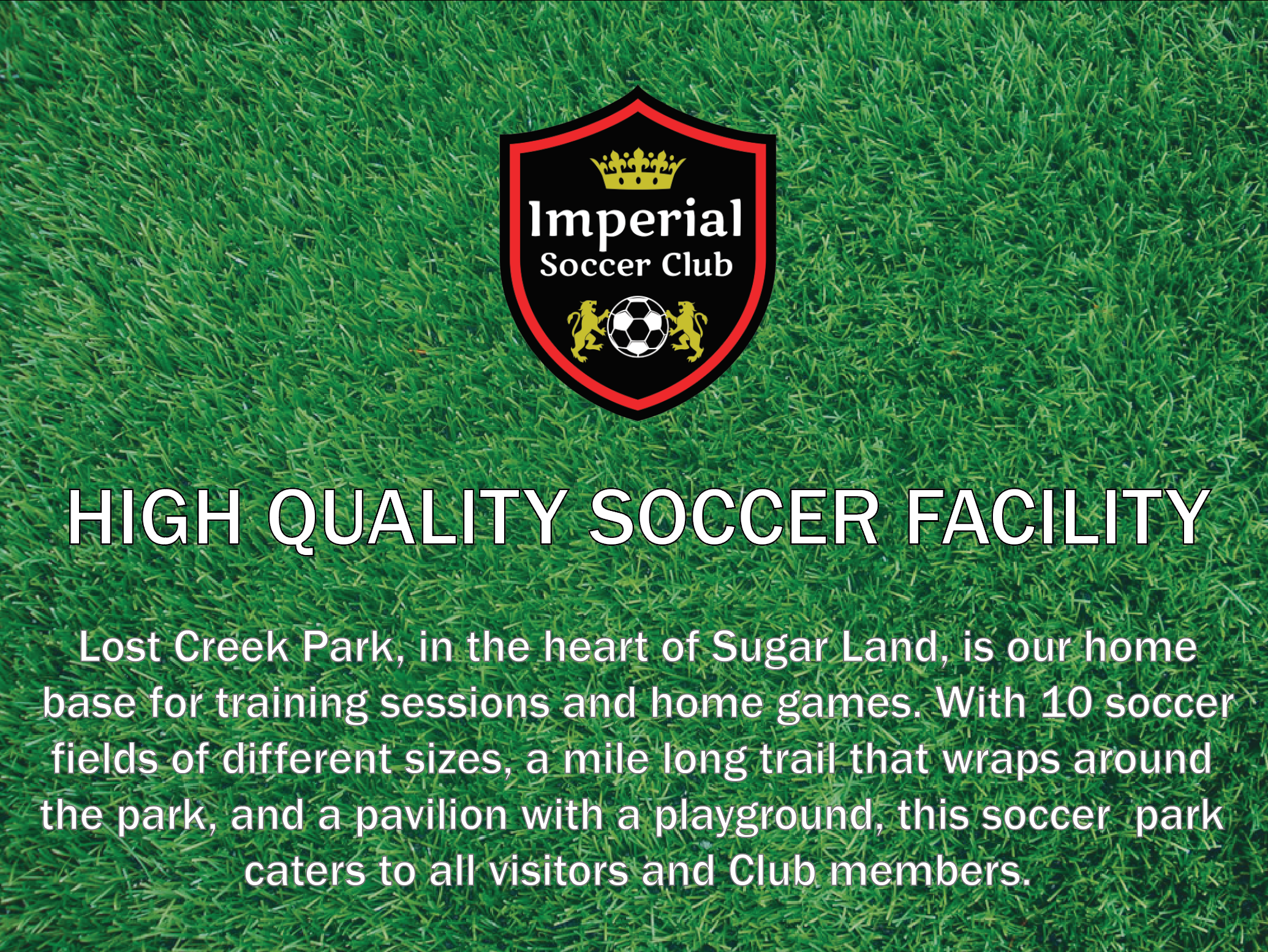 Imperial Soccer Club Field Locations - Recreational Soccer - Competitive Soccer - Academy Soccer
