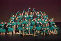 Jazz and lyrical dance performance