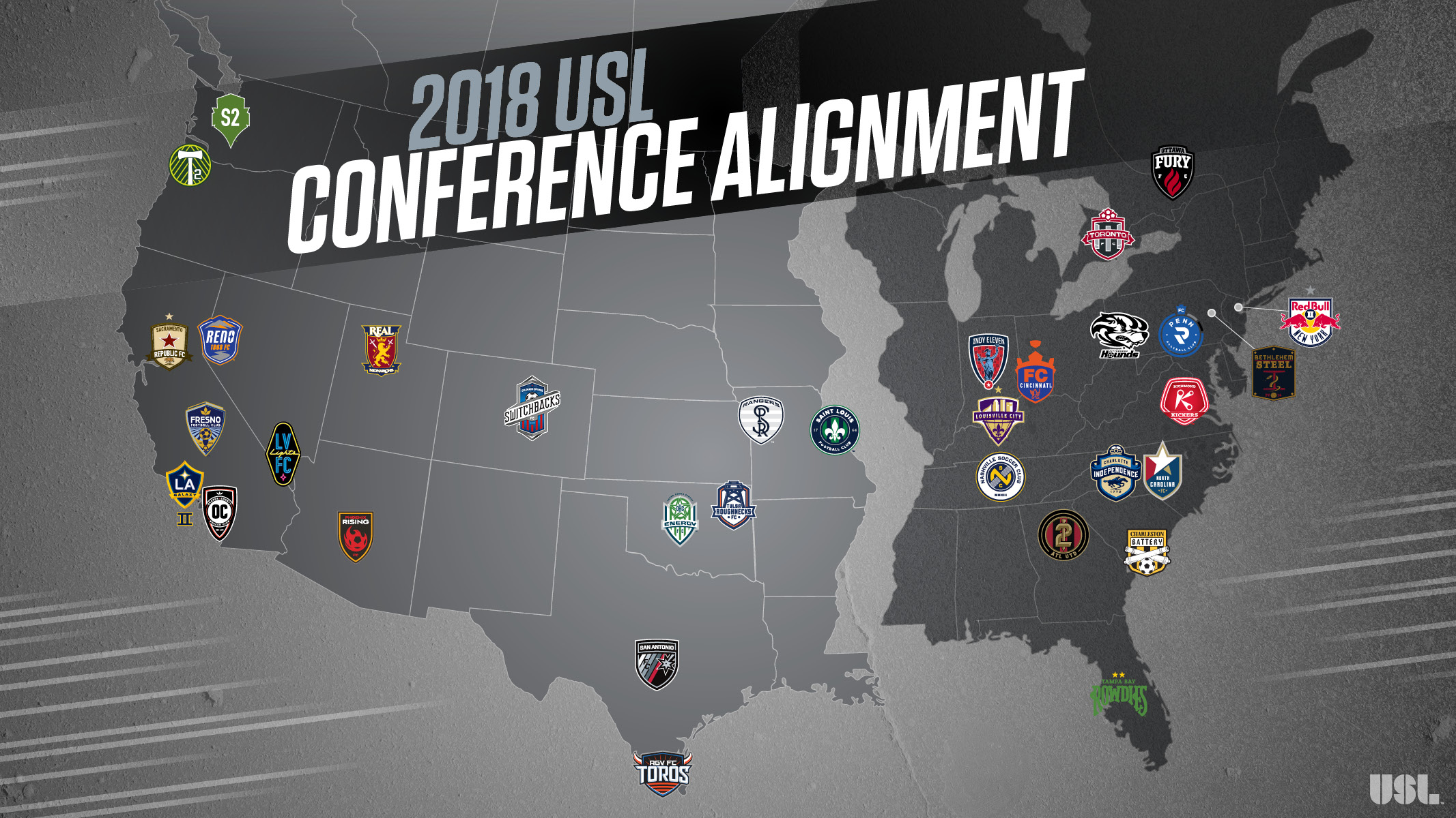Louisville City FC in the Eastern Conference