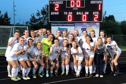 women's varsity soccer team photo