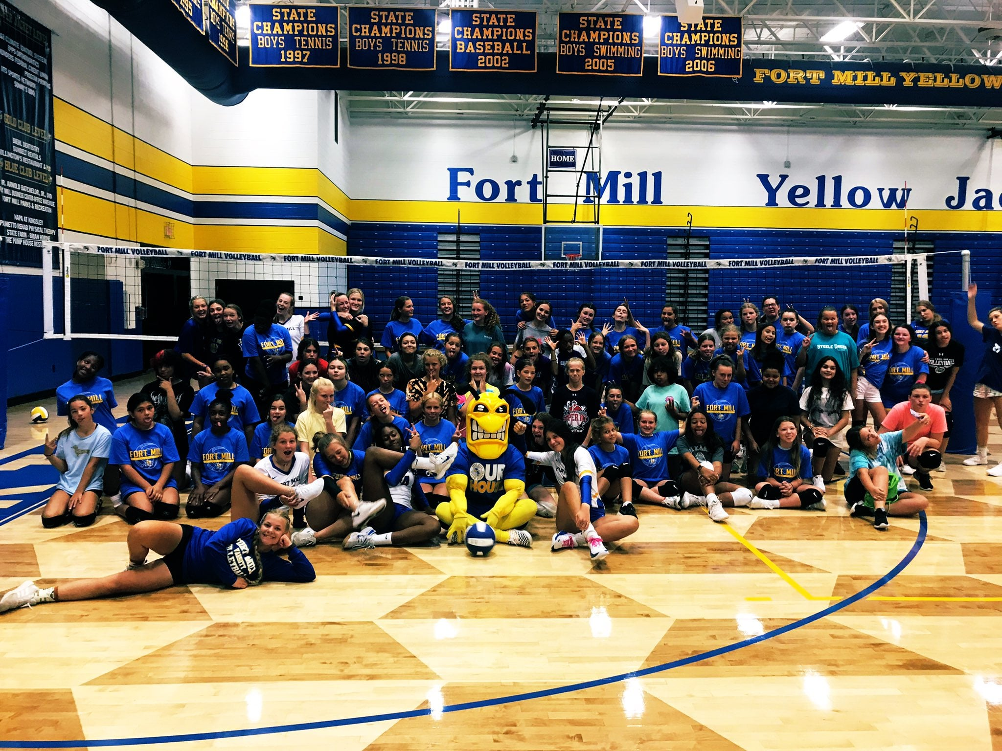 Fort Mill Yellowjackets Volleyball
