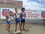 Medal winners from AAU West Coast Championship in Reno