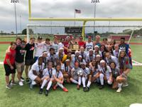 Blue Valley West Girls Spring 2019 6A State Champions