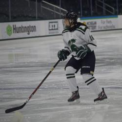 Christina Berels MSU vs Navy
